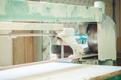 Sanding belt wood Royalty Free Stock Photos