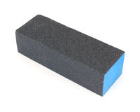 Sanding block Stock Photo