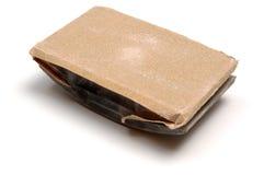 Sanding block. Isolated on white background stock image