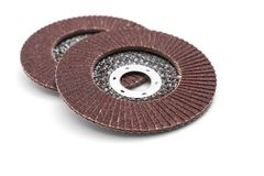 Sanding discs for angle grinder Stock Images