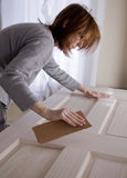 Sanding_door_3 Royalty Free Stock Image