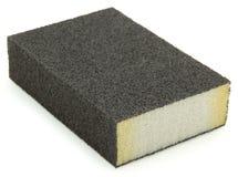 Sanding Sponge Block. Isolated sanding block sponge over white background Stock Photo