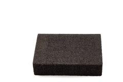 Sanding sponge isolated Stock Photography