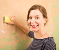 Sanding Royalty Free Stock Images