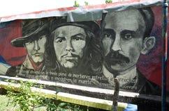 Sandinista壁画 免版税库存照片