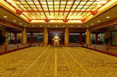 Sandkasten des changan Kapitals der Tang-Dynastie, luftgetrockneter Ziegelstein rgb stockfotos