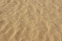 Sandkräuselungbeschaffenheit Lizenzfreie Stockfotografie