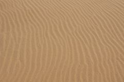 Sandkräuselungbeschaffenheit Stockbild
