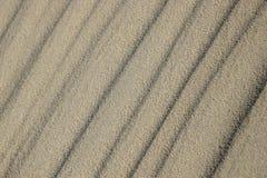Sandkräuselungen Lizenzfreie Stockfotografie