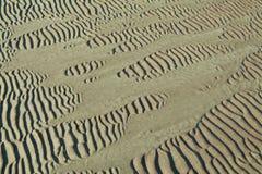 Sandkräuselungen Lizenzfreies Stockbild