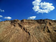 Sandkullar Arkivfoton