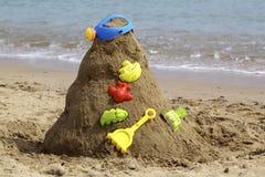 Sandkunst des Schätzchens Lizenzfreie Stockbilder