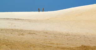 Sandlandschaft Stockbilder