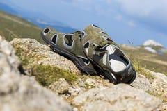 Sandálias Fotografia de Stock