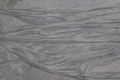 Sandmalerei bei Matosinhos Stockbild