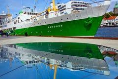 Sandnes in dock at Stavanger Stock Photos