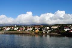 Sandnessjoen, Νορβηγία στοκ εικόνα