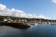 Sandnessjoen, Noruega Fotografia de Stock Royalty Free