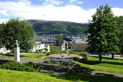 Sandnessund Bridge Royalty Free Stock Photo
