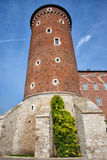 Sandomierska Tower of Wawel Castle in Krakow Stock Photo