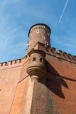 Sandomierska Tower at the Wawel Royal Castle in Krakow, Stock Images