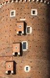 Sandomierska Tower at the Wawel Royal Castle in Krakow, Royalty Free Stock Image