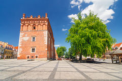 Sandomierz é conhecido para sua cidade velha, que é uma atração turística principal 23 DE MAIO DE 2014 Sandomierz, Fotos de Stock Royalty Free