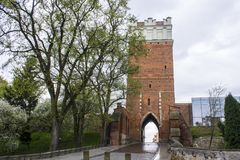 sandomierz Польши Стоковое Изображение