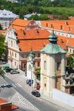 Sandomierz, alte Stadt Stockfotografie