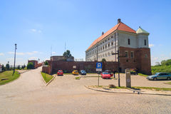 Sandomierz, alte Stadt Lizenzfreie Stockfotos