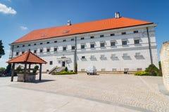 Sandomierz bekannt für seine alte Stadt, die eine bedeutende Touristenattraktion ist 23. MAI 2014 Sandomierz, Stockfotografie
