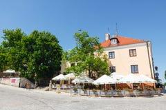 Sandomierz, cidade velha Foto de Stock Royalty Free