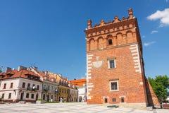 Sandomierz, Città Vecchia Immagine Stock