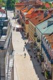 Sandomierz, ciudad vieja Imagen de archivo libre de regalías