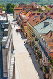 Sandomierz, ciudad vieja Foto de archivo