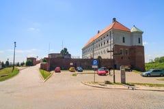 Sandomierz, ciudad vieja Fotos de archivo libres de regalías