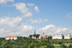 Sandomierz en Polonia Foto de archivo