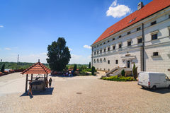 Sandomierz is gekend voor zijn Oude Stad, die een belangrijke toeristische attractie is 23 MEI, 2014 Sandomierz, Stock Afbeelding