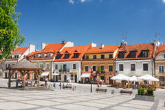 Sandomierz is known for its Old Town, which is a major tourist attraction. MAY 23, 2014. Sandomierz, Stock Images