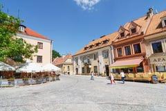 Sandomierz, Oude Stad Royalty-vrije Stock Afbeeldingen