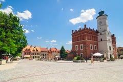 Sandomierz, Oude Stad Royalty-vrije Stock Afbeelding
