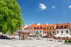 Sandomierz, Oude Stad Royalty-vrije Stock Fotografie