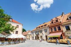 Sandomierz, Polônia, o 23 de maio de 2014 Fotografia de Stock