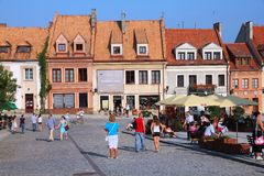 Sandomierz, Poland Stock Photography