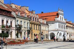 Sandomierz Royalty Free Stock Image