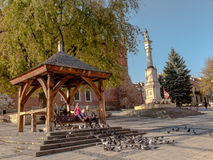 SANDOMIERZ, POLAND 16 October, 2015 .: Peace and rest Stock Photo