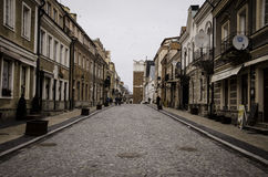 Sandomierz, Poland, an Old Town Stock Image