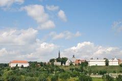 Sandomierz in Polen Stockfoto