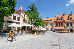 Sandomierz, Polen Stockbilder