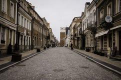 Sandomierz, Pologne, une vieille ville Image stock